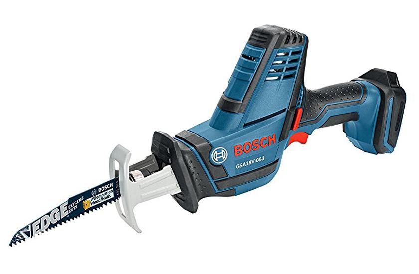Bosch CLPK495A-181 18V 4-Tool Combo Reciprocating Saw