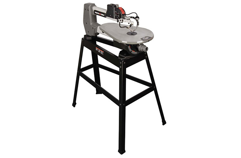 PORTER-CABLE 18″ Variable Speed Scroll Saw with Stand
