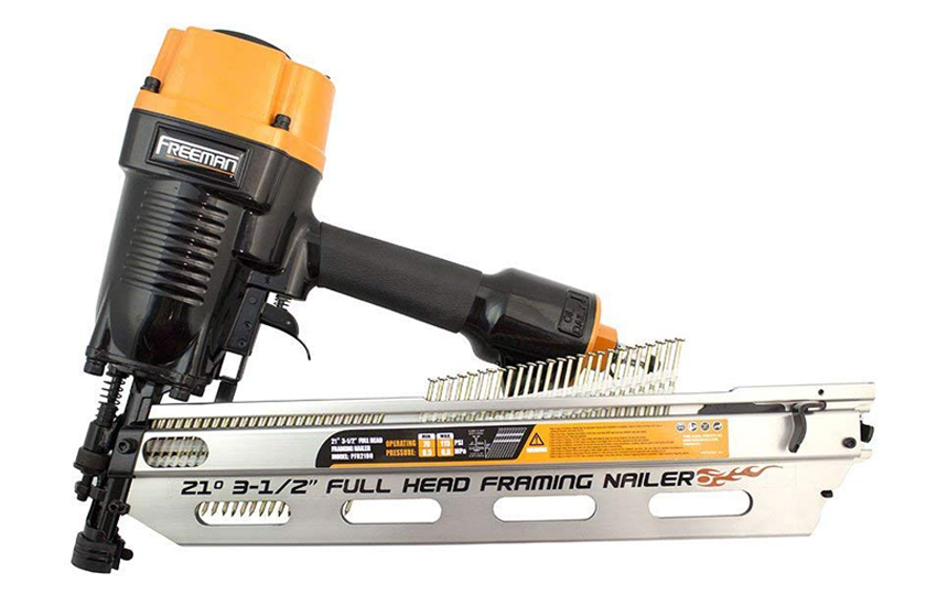 Freeman PFR2190 21-Degree Full-Head Framing Nailer Review