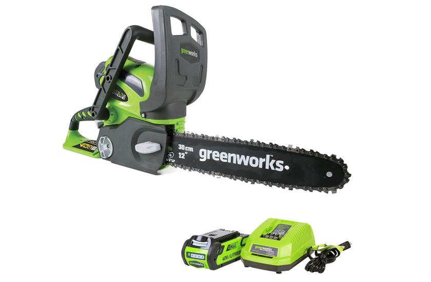 Greenworks 12-Inch 40V Cordless Chainsaw Review