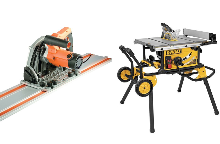 Is Track Saw Better Than A Table Saw
