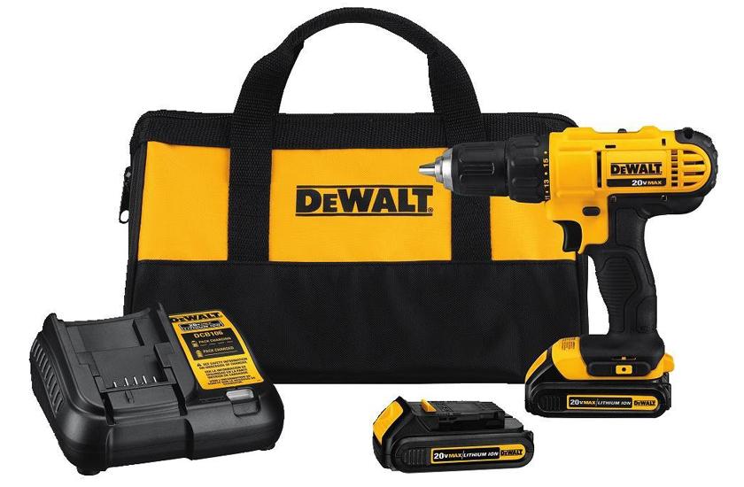 Dewalt DCD771C2 20V MAX Cordless Drill